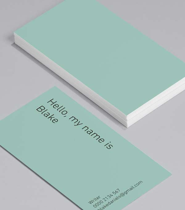 Business Card designs - Greetings