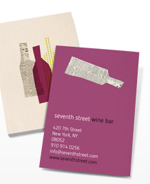 Preview image of Business Card design 'Red, White or Rosé?'