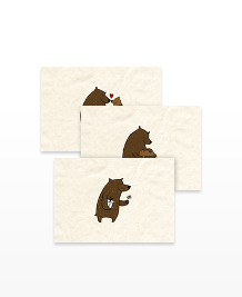 Postcard designs - Friendly Bears