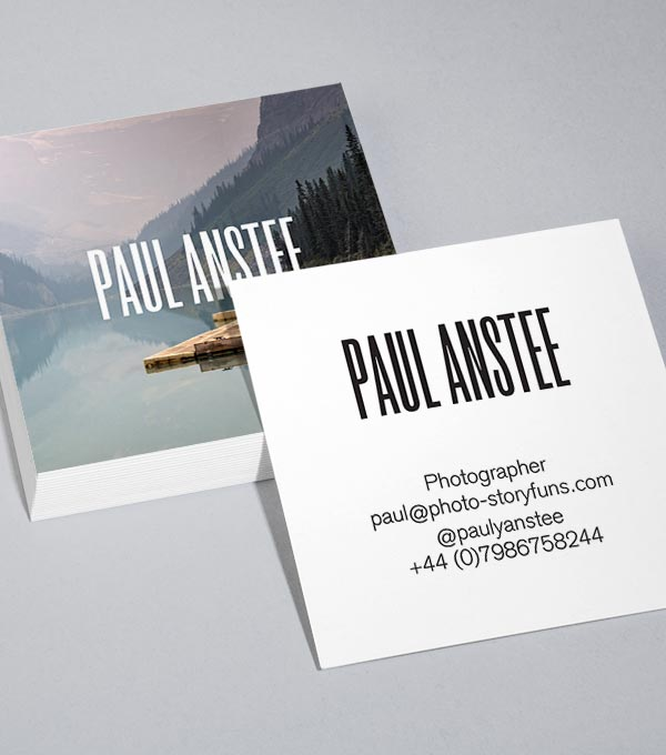 Square Business Card designs - Imagescape