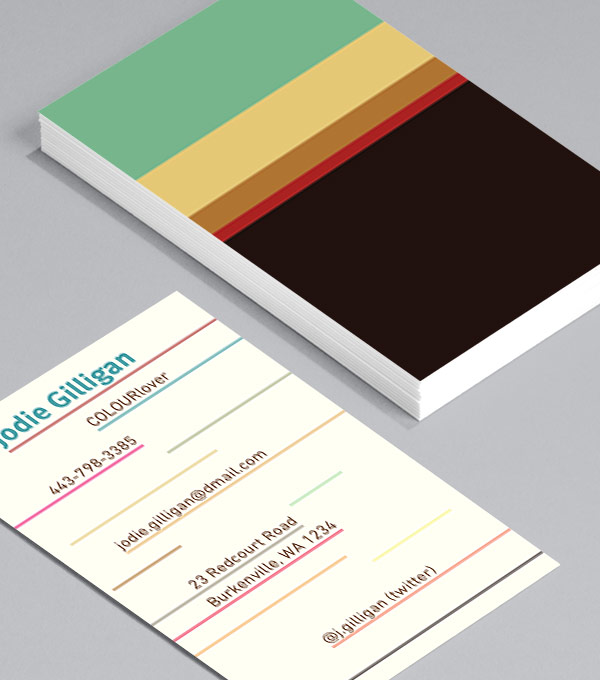 Business Card designs - COLOURlovers Champions