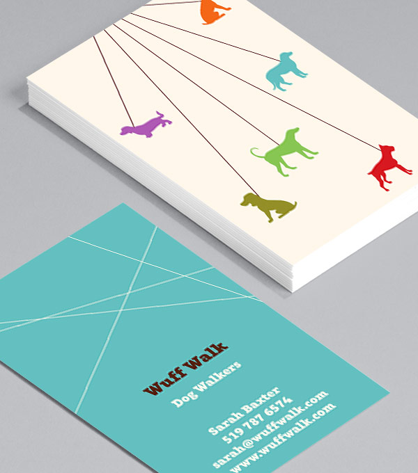 Business Card designs - A Lotta Dogs