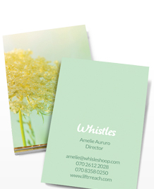 Preview image of Business Card design 'Late Bloomers'