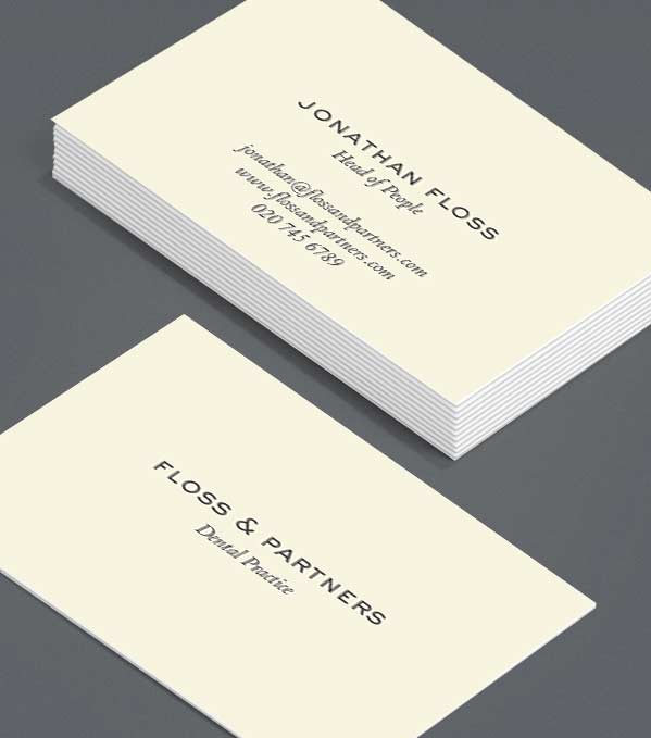 Business Card designs - Best Practice