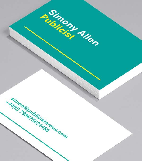 Business Card designs - Draw A Line