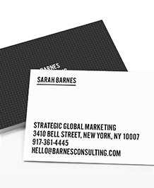 Business Card designs - Building Blocks
