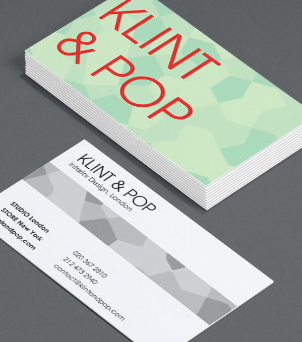 Custom Card Template business cards moo : Popping Patterns