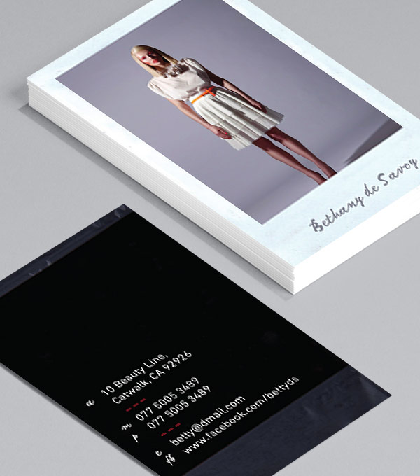 Browse business card design templates moo united states polaroid wajeb Image collections