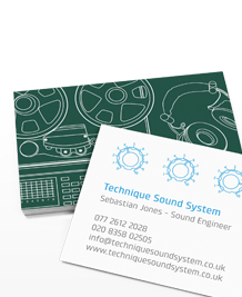 Preview image of Business Card design 'What does that thing do?'