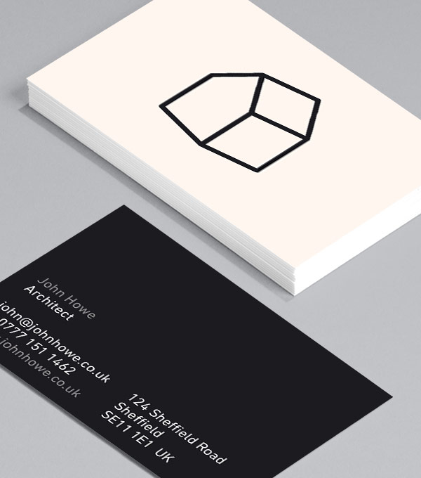 Business Card designs - I Draw Houses