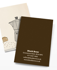 Business Card designs - Grind the beans