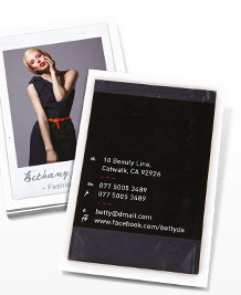 Business Card designs - Polaroid II