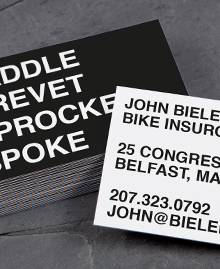 Business Card designs - BikeBold