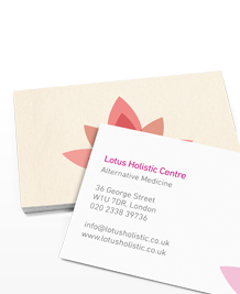 Preview image of Business Card design 'Holistic Lotus'