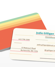 Preview image of Business Card design 'COLOURlovers Winners'