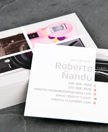 Business Card designs - Snap Happy Landscape