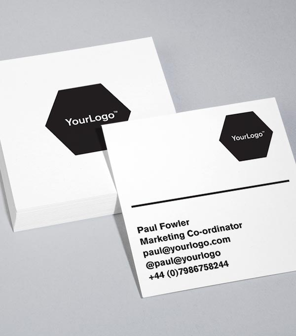 Square Business Card designs - Logo Lovers