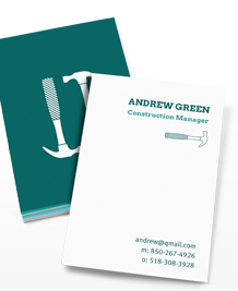 Preview image of Business Card design 'DIY Style'