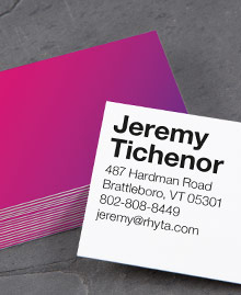 Business Card designs - All About Ombre