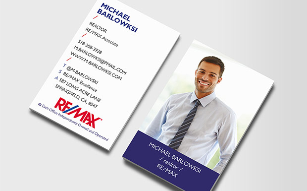 RE/MAX Profile Business Cards