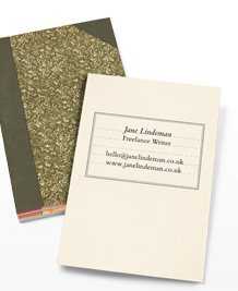 Preview image of Business Card design 'Beautiful Notebooks'