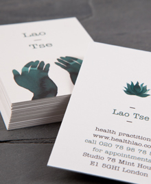 Preview image of Business Card design 'LaoTse'