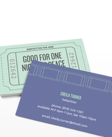 Business Card designs - The kids are alright