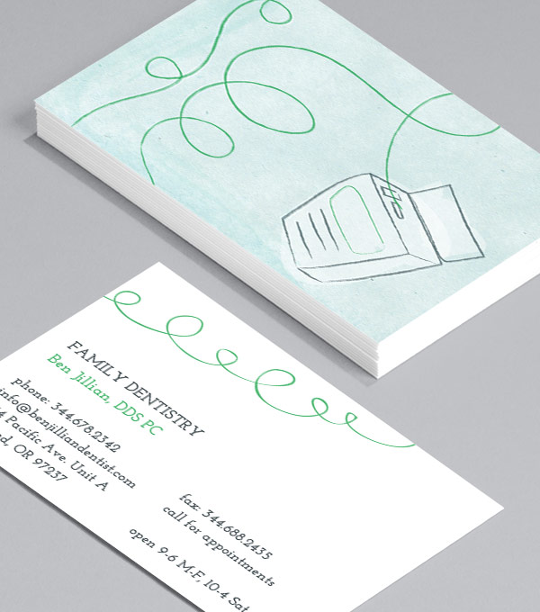 Business Card designs - Minty Floss