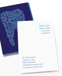 Preview image of Business Card design 'Friendly Dentist'