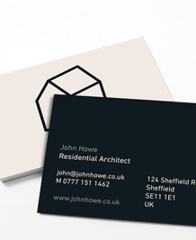 Preview image of Business Card design 'I Draw Houses'