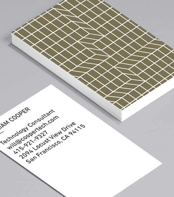 Business Card designs - Dimension