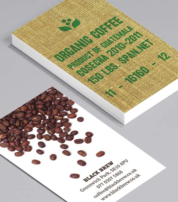Business Card designs - Coffee Origins