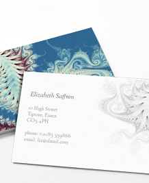Preview image of Business Card design 'Perfect Paisley'