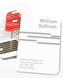 Preview image of Business Card design 'Stacked Up'