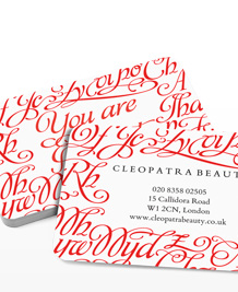 Preview image of Business Card design 'You Are Beautiful'
