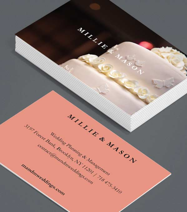 Business Card designs - Millie and Mason
