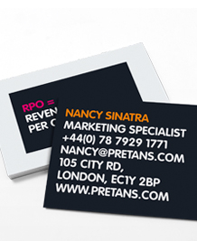 Preview image of Business Card design 'All the Acronyms'