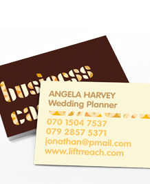 Preview image of Business Card design 'I'm a Business Card'