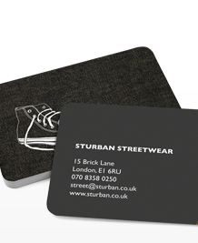 Preview image of Business Card design 'Urban Outfits'