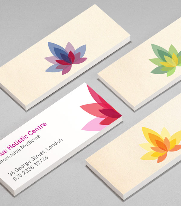 MiniCard designs - Holistic Lotus