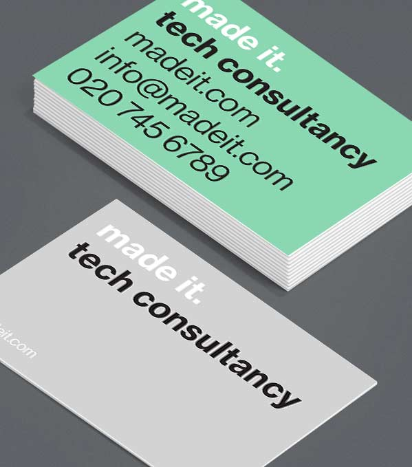 Business Card designs - Can't Miss