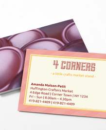 Preview image of Business Card design 'Hallmark'