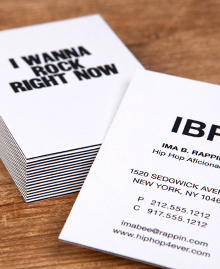 Business Card designs - Paper Jam