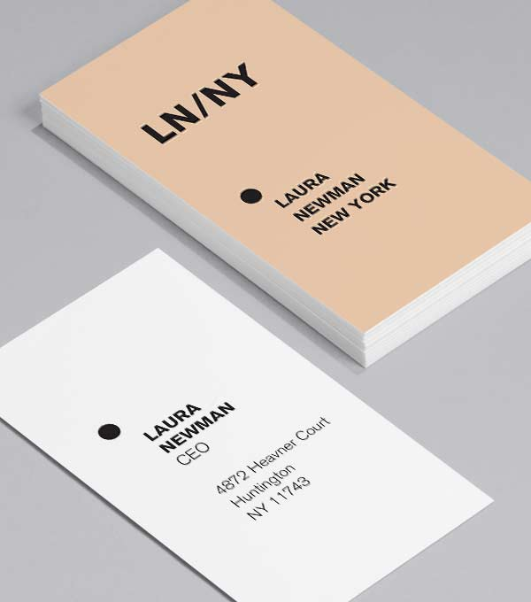 Business Card designs - Vital Stats