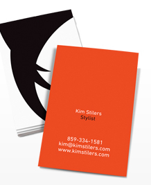 Preview image of Business Card design 'Graphic Hair'