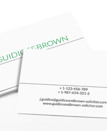 Business Card designs - Clear Cut