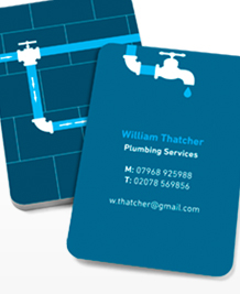 Preview image of Business Card design 'Pipe Up!'