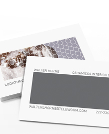 Preview image of Business Card design 'Layer Cake'