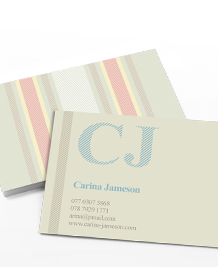 Business Card designs - French Linen