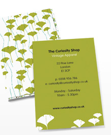 Preview image of Business Card design 'Glorious Green'